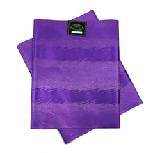 Nigerian gele headtie African SEGO HEADTIE 2pcs/set High Quality used for party Free shipping PURPLE SL-1539