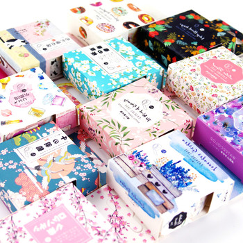 Fashion Trends 2018 New Stationery Stickers Diary Pack Posted It Kawaii Planner Scrapbooking Stationery Escolar School Supplies Stationery Stickers