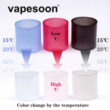 Original VapeSoon Replacement Changeable Color Glass Tube For Eleaf MELO 3 4ML Atomizer  Colorful Glass Tube