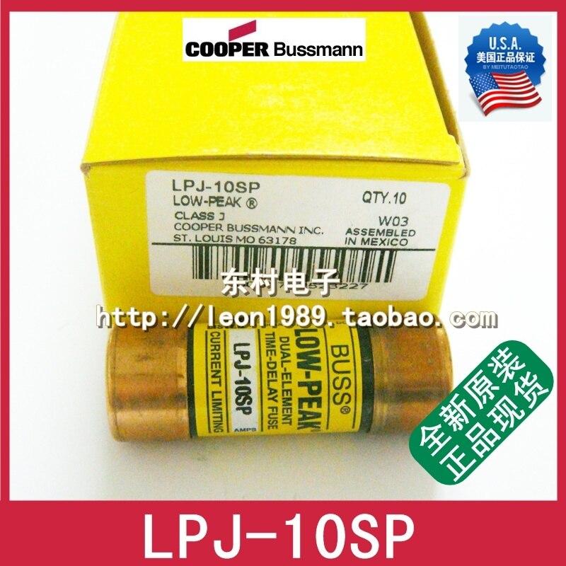 US Fuse BUSSMANN BUSS LOW-PEAK fuse LPJ-10SP 10A 600VAC