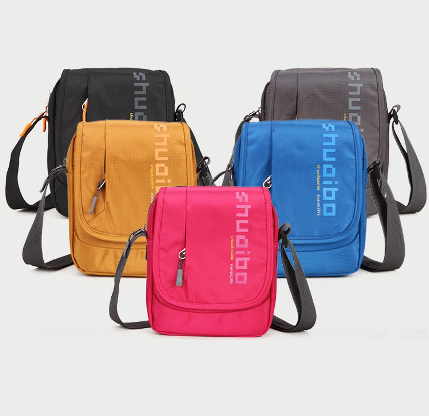 ShuaiBo Waterproof Nylon Laptop Notebook Tablet Shoulder Bag Bags Case Messenger Briefcase Sleeve Men Women for Ipad