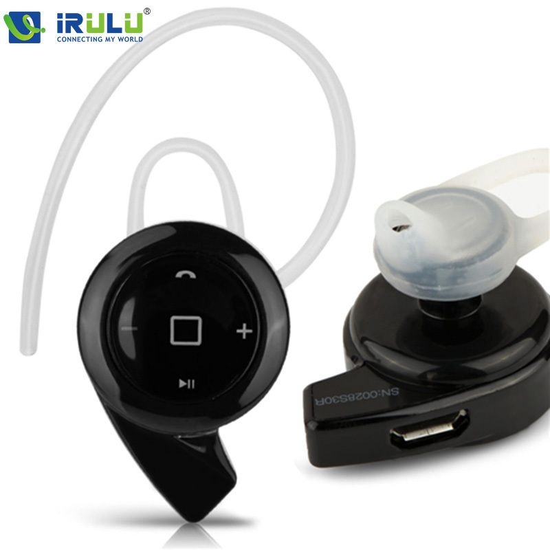 iRULU GBB Wireless Handfree Earphone Bluetooth V 4.0 Earphones Stereo Portable Wireless Headphone For Mobile Phone