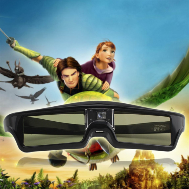 3D IR Active Shutter Glasses For BenQ W1070 W700 W710ST DLP-Link Projector new arrival