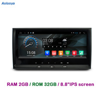 Aoluoya RAM 2GB+32GB Android 7.1 CAR DVD Player Radio GPS Navigation For AUDI A6 1997 2000 2001 2002 2003 2004 Audio multimedia