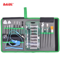 5set/lot 80 in 1 Precision Screwdriver Set Magnet Repair Tool Kit with Portable Bag for iPhone Cell Phone iPad Tablet PC