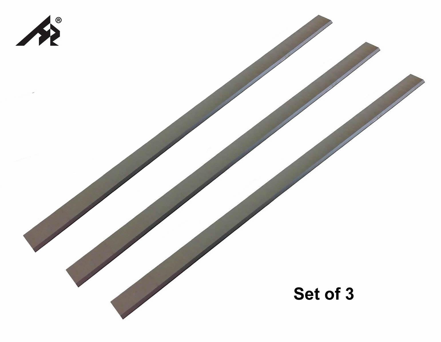 HZ 13-1/16 HSS Jointer Planer Knives blades For Jet JPM-13 708366, Grizzly 13 Delta - Set of 3