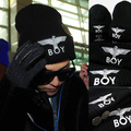 Gd eagle boy knitted hat autumn and winter hat pocket cold cap hat cap