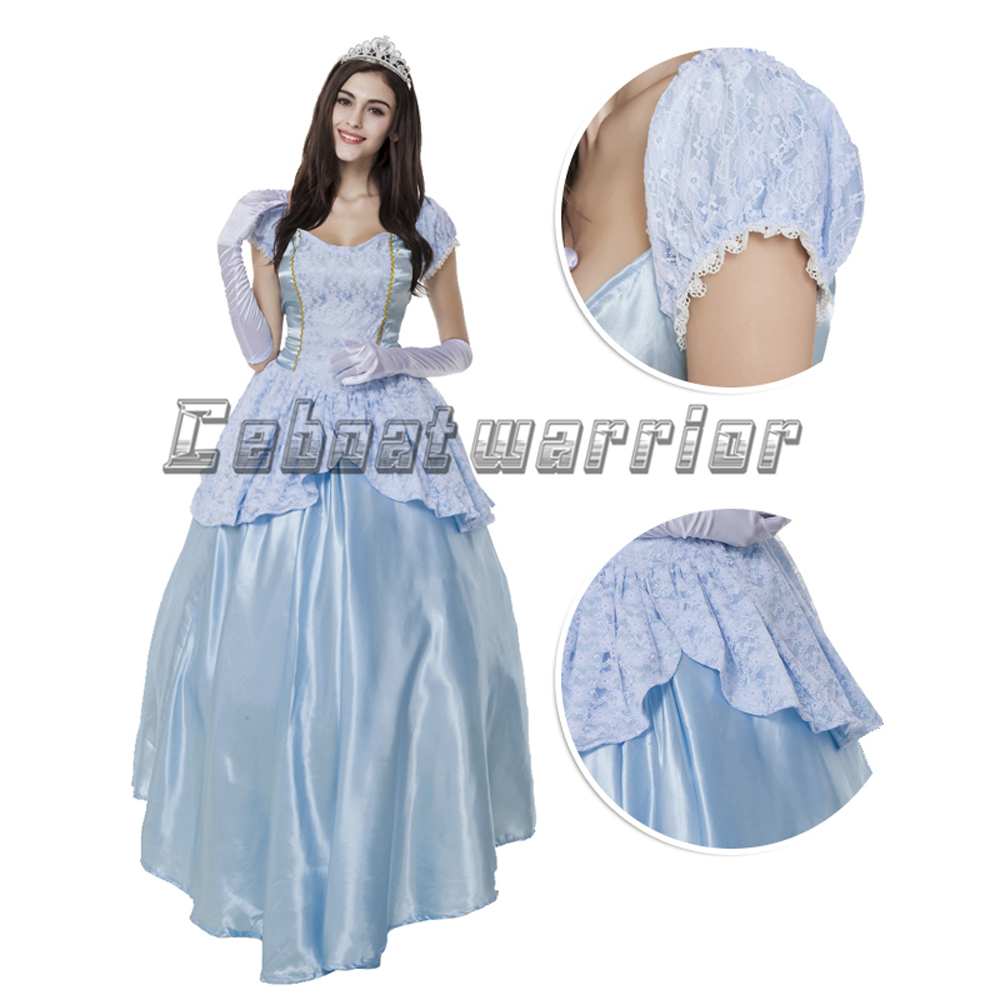 Disney Store Cinderella Light Up Costume Fancy Dress: Cinderella Princess Cosplay Costume Cinderella Light Blue
