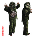 children kid boy Halloween cosplay Scary Zombie ghost large Intestines costume Horror Swamp Party Props Stage Outfits clothing