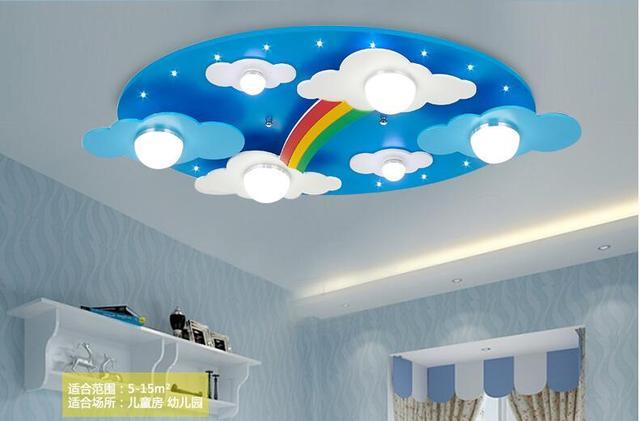 Surface mounted bambini lampade a soffitto camera da letto per