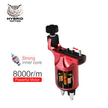 hot deal buy hybrid rotary tattoo machine adjustable gun strong 10w motor for 8000r/m powerful stroke direct drive 3-4v tattoo body&art m648