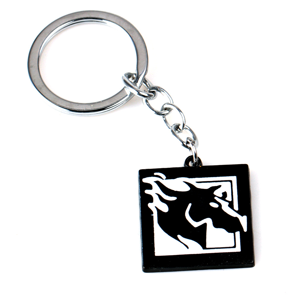 US $2 45 18% OFF|FPS Game Rainbow Six Siege Maverick Necklace Zinc Alloy  Keychain Pendant Men Women Fashion Jewelry Fans Gift Charms Accessories-in