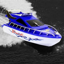 RC Speedboat Super Mini Electric Remote Control High Speed Boat Ship 4-CH Game Toys Birthday Gift Kid Children