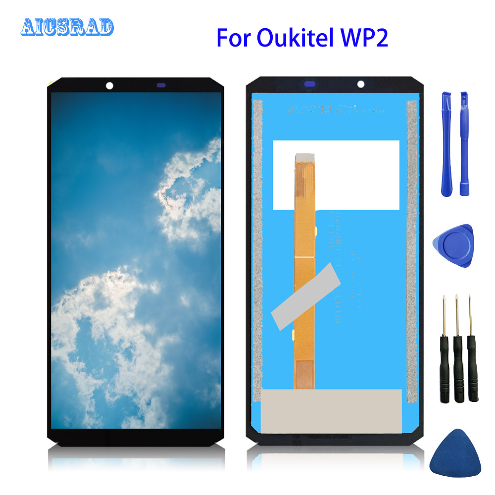 For Oukitel WP2 LCD Display And Touch Screen 6 0 Tested Before Shipment Assembly no Frame