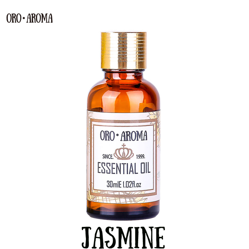 Famous brand oroaroma natural jasmine essential oil Increase skin elasticity relieve menstrual stretch marks scars jasmine oil image