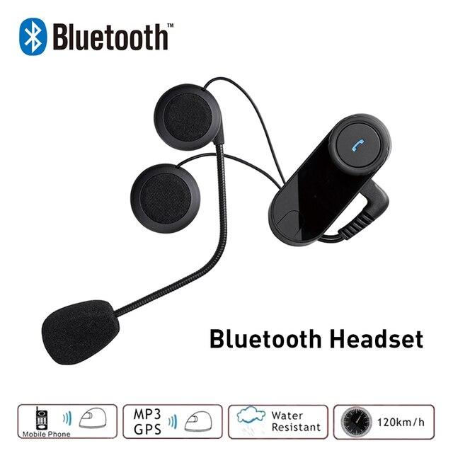 Freedconn Helmet Headset Motorcycle Intercom Bluetooth Intercom Moto Headset Headphone For Phone/MP3 Without Intercom Function
