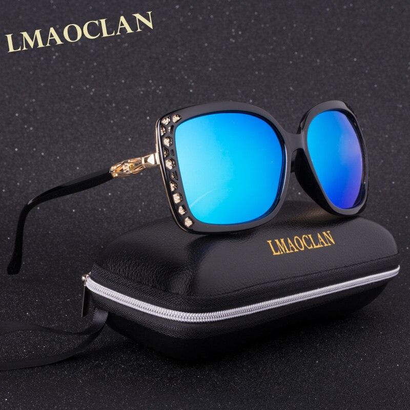 LMAOCLAN syze dielli të polarizuara Zonja Zonja gradiente syze - Aksesorë veshjesh - Foto 4