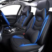 KADULEE Leather car seat covers for alfa romeo 159 156 giulietta auto accessories Automobiles Seat Covers