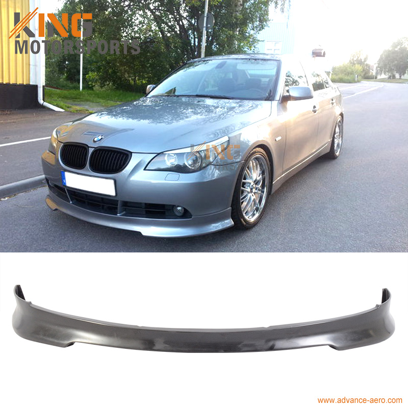 for 2004 2005 2006 2007 bmw e60 5 series c style front bumper lip spoiler pu in bumpers from. Black Bedroom Furniture Sets. Home Design Ideas