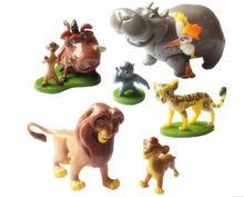 6pcs/Set The Lion King Simba Nala Timon Model Figurine PVC Action Figures Classic Toys Best Children Gifts