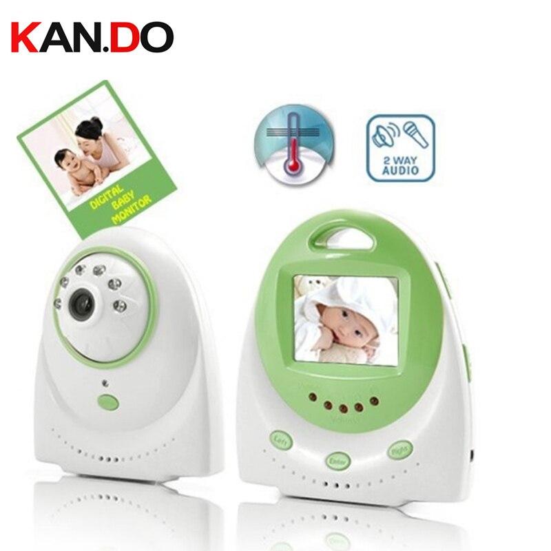 2.4 inch Digital Baby Monitor Support 2-way Talk Nightvision Wireless Radio Nanny Baby sitter 2.4G wireless elder monitor camera