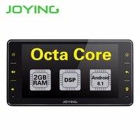 Joying 1 Din Android 8,1 Автомобильный мультимедийный 6,2 дюймов Восьмиядерный 2G 16 GB Автомобильный Радио автомобильный аудио плеер с Bluetooth/FM/DSP автомоби