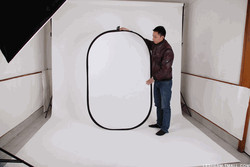 200x150CM  silver-white double-sided photographic reflector plate foldtable reflector plate CD50