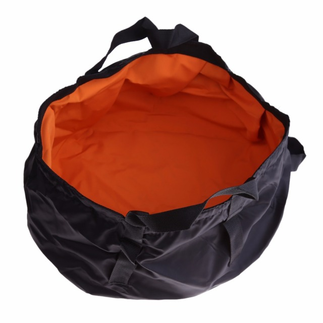 Travel Kits 8.5L Outdoor Hiking Camping Folding Washing Basin Bucket Portable Water Pot