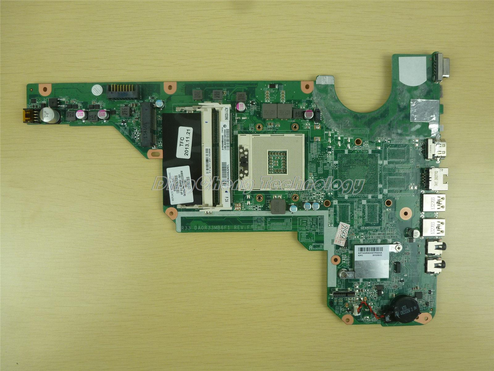 SHELI laptop Motherboard For HP G4 G6 G7 680568-001 DA0R33MB6F1 REV:F integrated graphics card 100% fully tested