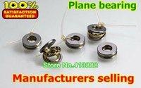 10pcs Free Shipping Axial Ball Thrust Bearings F4-10M (BA4 AKL4) 4*10*4 mm Plane thrust ball bearing