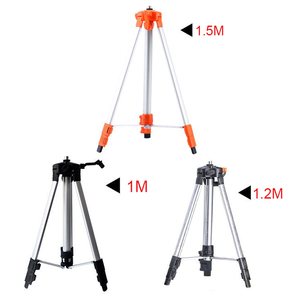 ELECALL Tripod for Laser Level 1m-1.5m Infrared laser levels Tripod 5/8'' Screw цена