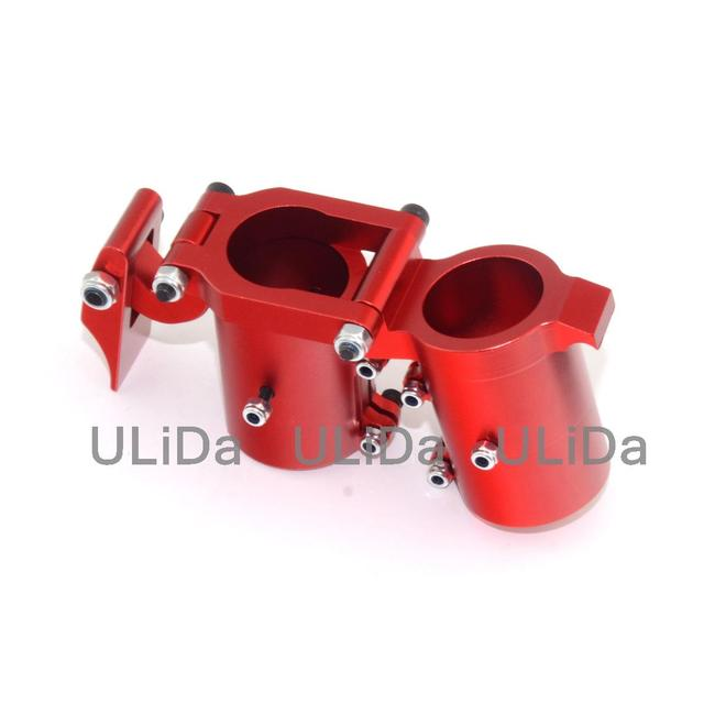 Lateral Folding Arm Tube Joint 30mm hinge CNC Aluminum for Multi-Copter Drone