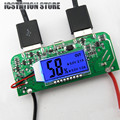 Double USB 5V 2.1A 1A Mobile Power Bank LED Screen Display Step up Module Charger PCB Board