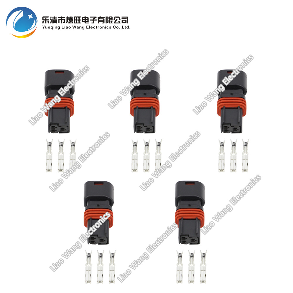 5 Sets 3 Pin jacket car equipped with connectors car