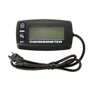 Image 4 - Engine TEMP METER Thermometer Temperature Meter for Motorcycle Construction Machinery Paramotor Truck Drilling Machine TM003