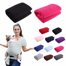 11 Colors Fashionable Baby Carrier Cover Infant Soft Breathable Hipseat Sling Wrap Cotton Soft Baby Wrap Sling Carrier