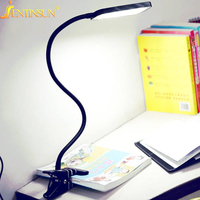 Mode 66 cm Moderne LED Clip Light Flexible USB Tischlampe Student Study Lesen Lampen Schreibtisch Lampe lampara de mesa led