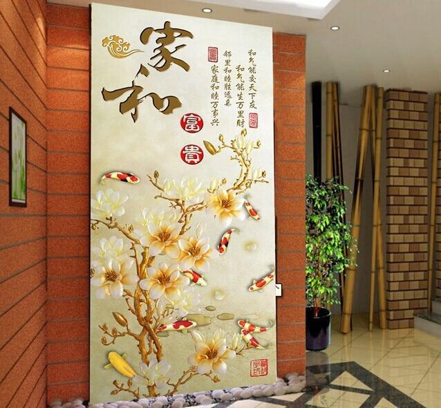 Emejing papier peint entree couloir gallery