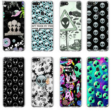 Phone Case Cover Alien Believe UFO ET Cute Emoji For Honor Note 6A 6C 7A Pro 7C 7X 8X 9 10 Lite Play(China)