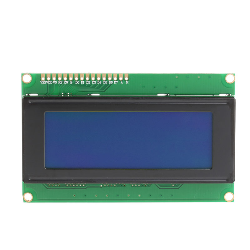 5V 2004A 2004 LCD Display Module 20x4 Display Character Blue Screen for Arduino