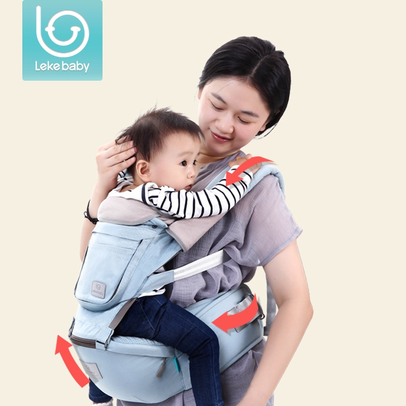 Lekebaby Multifunction Outdoor Kangaroo Baby Carrier Sling Backpack New Born Baby Carriage Hipseat Sling Wrap Summer and Winter 2016 four position 360 baby carrier multifunction breathable infant carrier backpack kid carriage toddler sling wrap suspenders