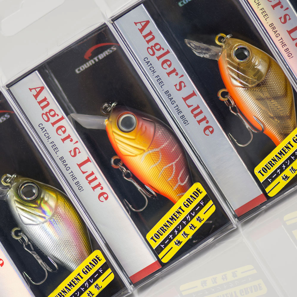43mm 7g Crank bait Hard Plastic Fishing Lures, Countbass Wobbler Freshwater Crappie Fishing Baits|fishing lure|plastic fishing lurescrank bait - AliExpress
