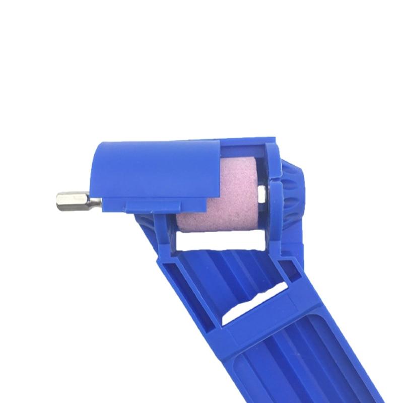 Portable Drill Bit Grinder Corundum Grinding Wheel Titanium Drills Bit Sharpener Drill Powered Tool --M25