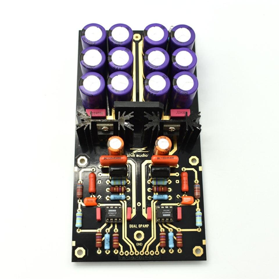 Carte amplificateur Lusya MM PCBA OPA2111KP platine vinyle HiFi Phono préamplificateur préamplificateur assemblé carte C2-003 - 2