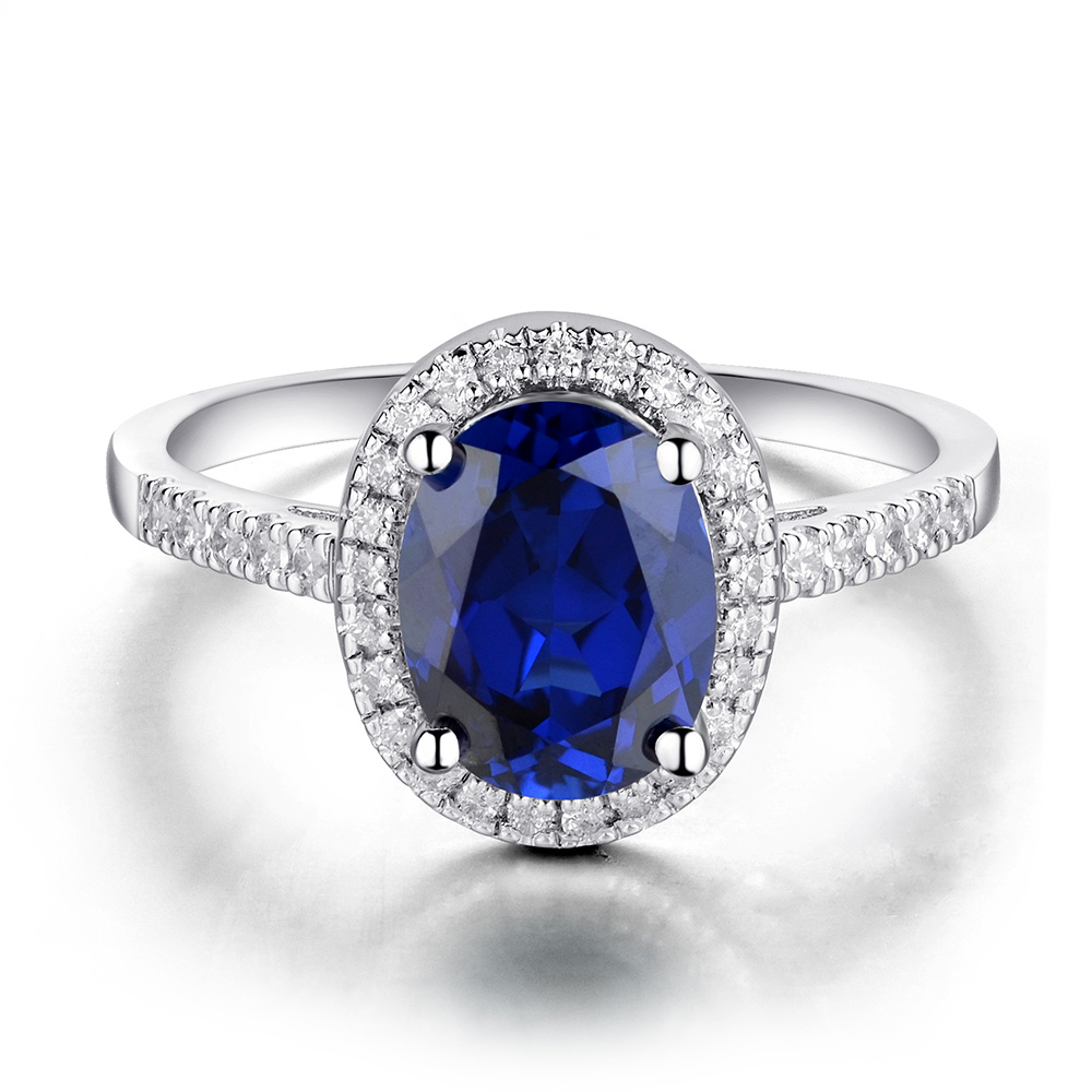 design wedding rings sapphire antique ring engagement white blue gold diamond safire round