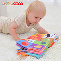Baby Toys Baby Cloth Book Knowledge Multifunction Fun and Colorful Intelligence Developing Toy 3D Stereo Cloth Book for Children