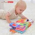 Baby toys conhecimento do livro de pano do bebê divertido e colorido multifuncional brinquedo desenvolvimento da inteligência 3d estéreo livro de pano para crianças