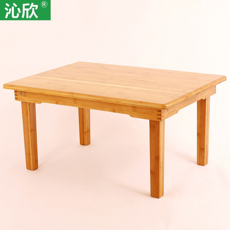 Qin Yan kang several windows and simple bed and tatami tables solid wood coffee table antique Chinese bamboo modern small kang t