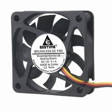 20PCS Gdstime 60x60x15mm 3 Pin 12V DC 60mm Computer PC Case Cooler Cooling Fan