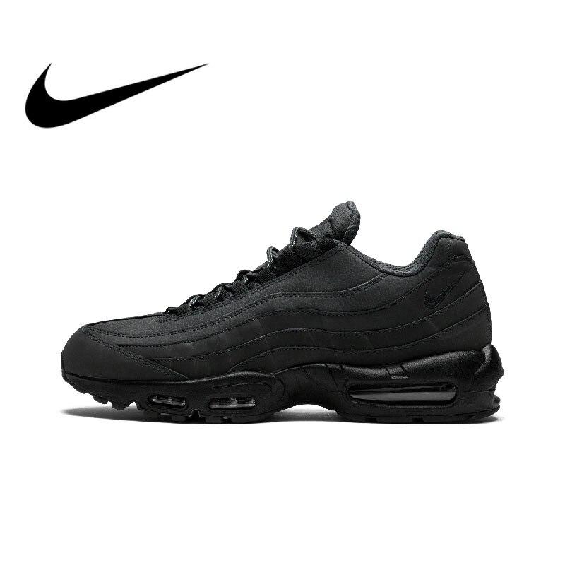 Original authentique NIKE AIR MAX 95 essentiel hommes chaussures de course baskets Sport en plein AIR marche Jogging confortable 749766